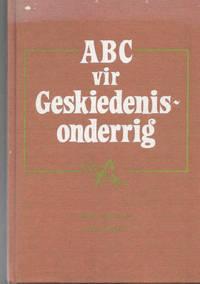 image of ABC vir Geskiedenisonderrig vir senior primêr en junior sekondêr