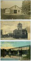 Collection of 10 post cards, New Philadelphia, Ohio