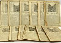 THE GENTLEMAN'S MAGAZINE, TWELVE DISBOUND ISSUES, JANUARY - DECEMBER 1782