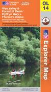image of Wye Valley and Forest of Dean (OS Explorer Map)