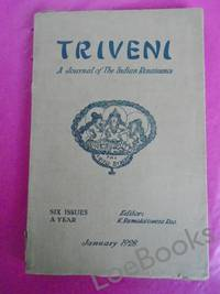 TRIVENI A Journal of the Indian Renaissance Vol. 1[No. 1] January 1928