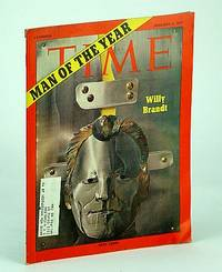 Time Magazine, Canadian Edition, January (Jan.) 4, 1971 - Willy Brandt Cover