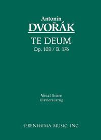 image of Te Deum, Op.103 / B.176