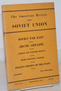 image of The American Review on the Soviet Union, Vol. V, No. 1, February-March, 1942