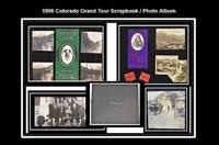 [Colorado] 1906 Colorado Grand Tour Scrapbook / Photo Album.
