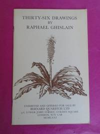 THIRTY-SIX DRAWINGS BY RAPHAEL GHISLAIN Drawn from Nature at the Kalmhout Arboretum (Belgium) Exhibited and Offered for Sale from May 17th 1971 By Bernard Quaritch Ltd