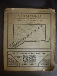 Stamford Telephone Directory : Including Darien, Greenwich, Old Greenwich, New Canaan (1933)