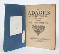 image of De Adagiis Novi Testamenti Diatribi