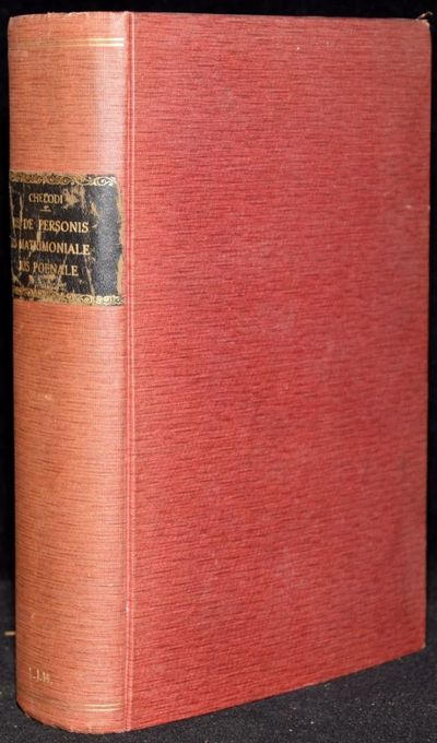 Libr. Edit. Tridentum: Tridenti, 1922. Hard Cover. Very Good binding. Cloth binding with leather tit...