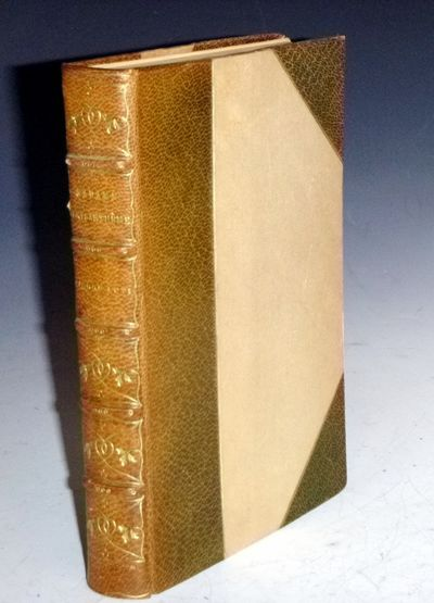 New York, nd: E.P. Dutton and Co. Octavo. 335 pages. A special book, handcolored with 41 pages of be...
