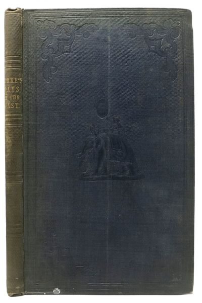 London: Smith Elder and Co., Cornhill, 1842. 1st Edition. INSCRIBED PRESENTATION copy to one