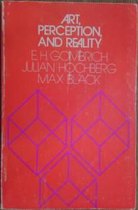 Art, Perception, and Reality (Thalheimer Lectures) by  Max  Julian; Black - Paperback - 1977 - from The Book House  - St. Louis (SKU: 210828-RD94)