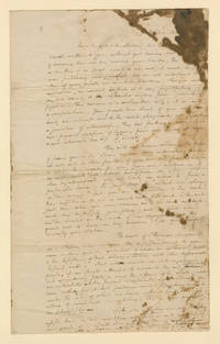 Alexander Hamilton Writes a Female Friend in Puerto Rico, Sympathizing with the Perilous Condition of Haiti as French Control of the Island Deteriorates