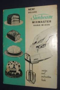 image of Sunbeam Mixmaster Hand Mixer Recipe and Instruction book