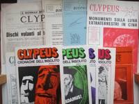 image of Clypeus: Il giornale del dischi volanti & Cronache dell'insolito, nos. 2,  3, Jan 1966, March 1967, 36, 38, 39, 40, 41 & 43 (a broken run of 10  issues May 1964 - March 1976)