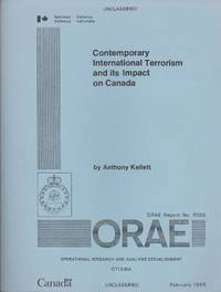 image of Contemporary International Terrorism and Its Impact on Canada