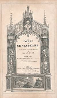 The Works of Shakspeare; From the Text of the Standard Edition. Tegg edition