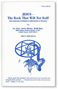 Jesus -- the Rock That Will Not Roll! (an exposé of Satan's Minstrels of Music)