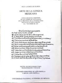 ARTE DE LA LENGUA MEXICANA