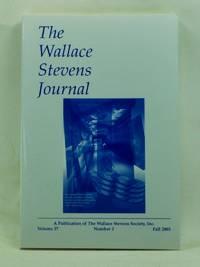 The Wallace Stevens Journal, Volume 27, Number 2 (Summer 2003)