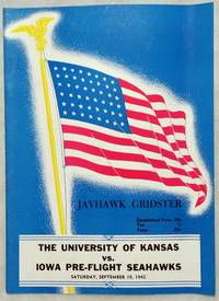 [Souvenir Football Game Program], Kansas Vs. Iowa Pre-Flight Seahawks, Saturday, September 19, 1942