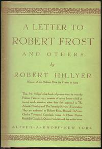 image of A Letter To Robert Frost and Others