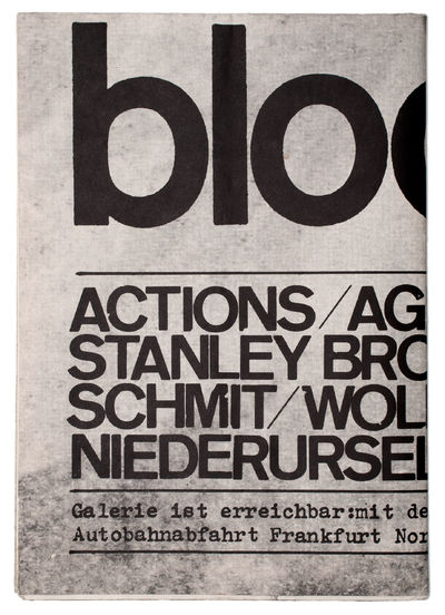Bloomsday 64: actions, agit pop,...