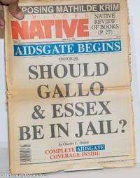 image of New York Native: #117, June 3-16 1986: AIDSGate Begins