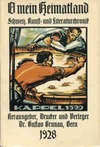 O mein Heimatland 1928.