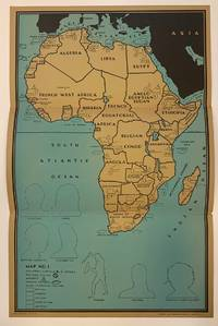 Africa Poster Maps; (Complete Set with Instructions, Game Pieces and Original Folder)