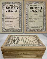 THE NATIONAL GEOGRAPHIC MAGAZINE (1913, 12 ISSUES)