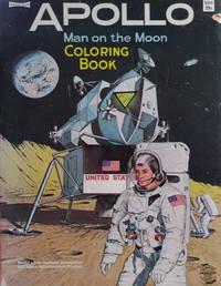Apollo Man on the Moon, a Coloring Book