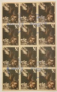 image of [Sheet of fundraising stamps, with slogan