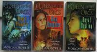 "Queen of the Orcs trilogy:  book (1) one ""King's Property"", book (2) two ""Clan Daughter"", book (3) three ""Royal Destiny""  --complete 3 volume trilogy ""Queen of the Orcs"""