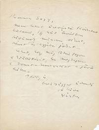 ALS, in Hungarian, 4to, n.p., n.d.