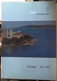 Australian and European Paintings July 1986 by Leonard Joel Fine Arts Division - Paperback - First Edition - 1986 - from Syber's Books ABN 15 100 960 047 (SKU: 0225289)
