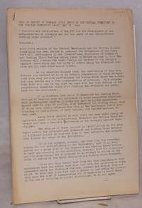 Text of report by Comrade Luigi Longo to the Central Committee of the Italian Communist Party, May 27, 1969