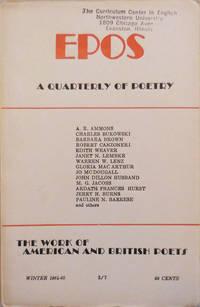 EPOS A Quarterly of Poetry Winter 1964 - 65