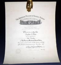 image of Charles L. Freer: His Life Membership in the American Museum of Natural History