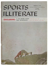 THE YALE RECORD ... IT'S AN ILL WIND BLOWN GOOD AS OLD OWL LETS ONE GO : SPORTS ILLUSTRATED PARODY [Volume 87, Number 4] / SPORTS ILLITERATE : FEBRUARY 31, 1959 : AMERICA'S NATIONAL SPORTS WEAKLING ... EXCLUSIVE: A YALE RECORD PARODY : OLD OWL WISES OFF : NOSE GRINDSTONING : A SPORT THE RUSSIANS CAN'T PLAY