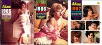 Adam (3 Vintage nude pinup calendars)