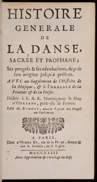 Histoire générale de la danse