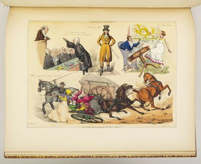 (COLOR PLATE BOOKS). MOMENTS OF FANCY...