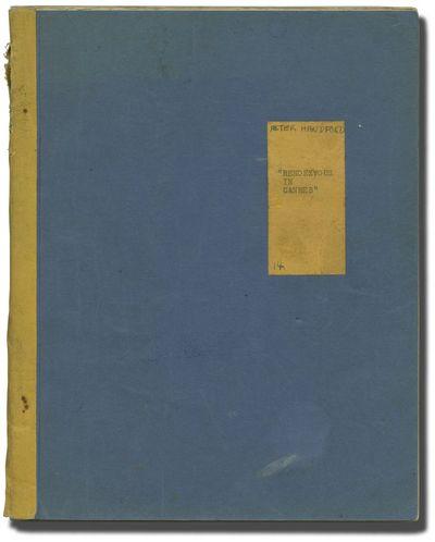 London: British Lion Film Corporation. Early Draft script for the 1950 British film