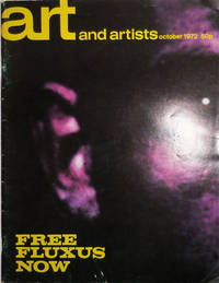image of Art and Artists October 1972 Issue - Free Fluxus Now