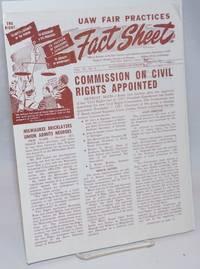 UAW Fair Practices Fact Sheet: Official Bulletin of the Fair Practices and Anti-Discrimination Department. Vol. 10 no. 6 (Nov./Dec. 1957)