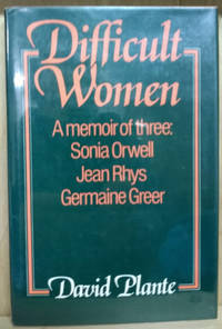 image of Difficult Women:  A Memoir of Three