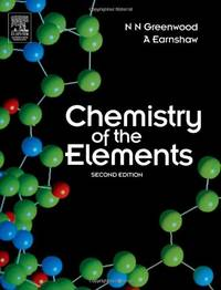 Chemistry of the Elements by Greenwood, N. N