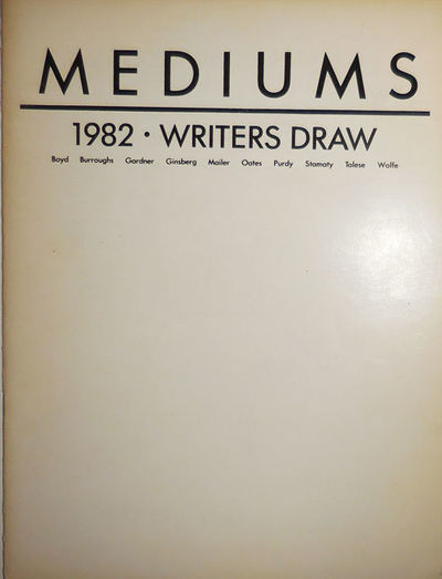 New York: Mediums, 1981. First edition. Paperback. Very Good. Stapled quarto. The first and perhaps ...
