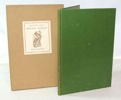Barre, Mass.: Barre Publishers, 1970. First Edition. Limited Edition Near fine in light green cloth ...